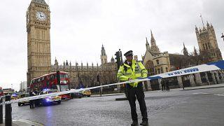 Inside UK parliament as news broke