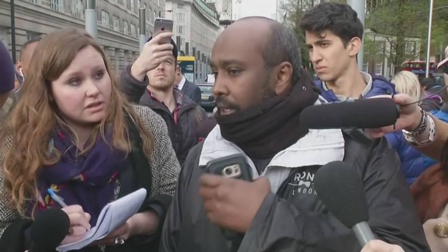 Londra'daki terör saldırısının görgü tanıkları