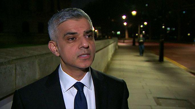 """Il sindaco di Londra Sadiq Khan: """"Non riuscirete a dividerci"""""""