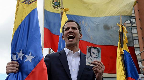 Image: Venezuela's National Assembly head Juan Guaido i