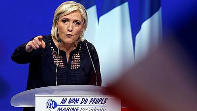 France's Le Pen vows to keep to her promises if elected