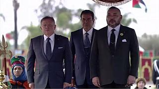 Jordanian King in Morocco for an official visit