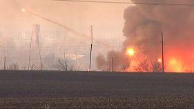 Ουκρανία: Ισχυρή έκρηξη σε οπλοστάσιο στο Χάρκοβο