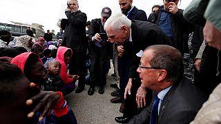L'Organisation intenationale pour les migrations vient en aide aux migrants en Libye