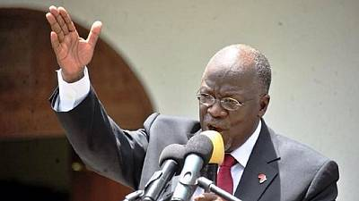 Tanzania president sacks information minister without notice
