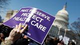 Trump scrambles for votes to bin Obamacare