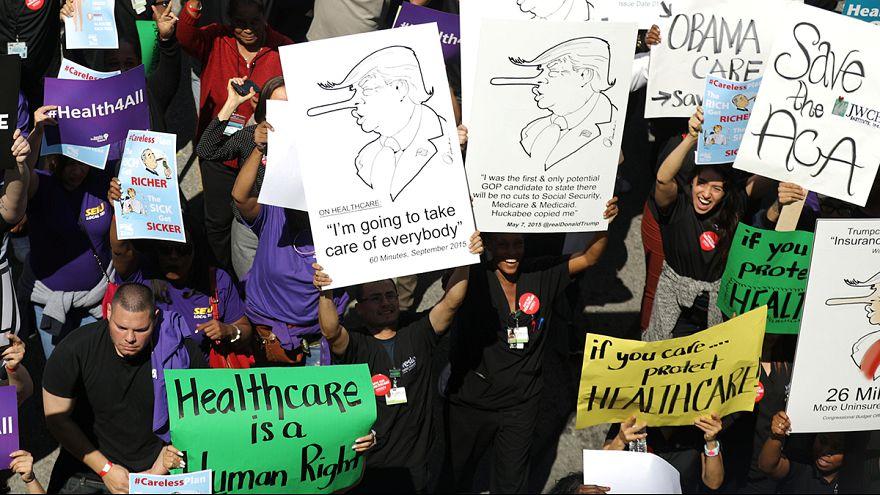 США: голосование по отмене Obamacare отложено