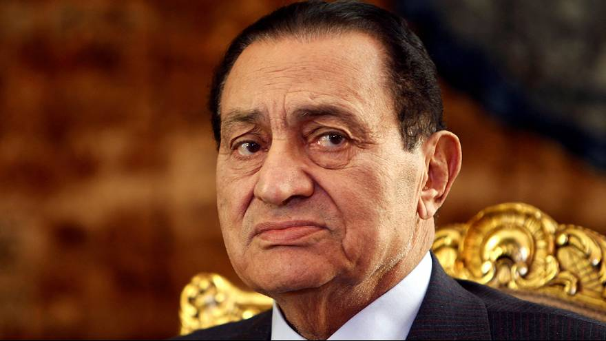 Szabadon engedték Hoszni Mubarak, volt egyiptomi elnököt