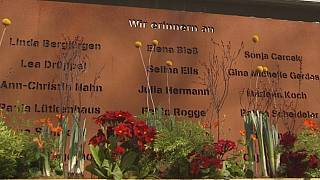Families remember the victims of Germanwings crash on second anniversary