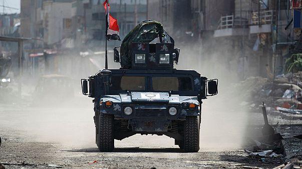 Tropas iraquianas esforçam-se por recuperar Mossul