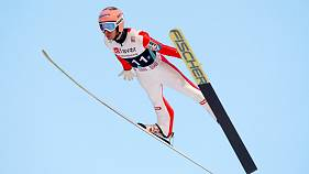 Kraft edges closer to world ski jump crown