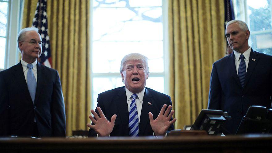 Gnadenfrist für Obamacare: Trump zieht Krankenversicherungsgesetz zurück