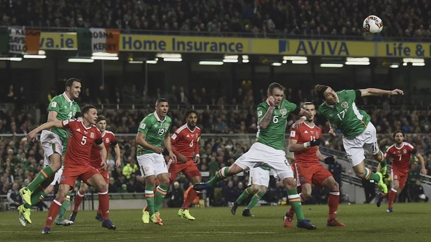 Russia 2018 - Wales see red in draw with Ireland