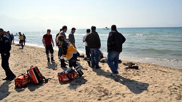 Tödliches Schlauchbootunglück vor Samos