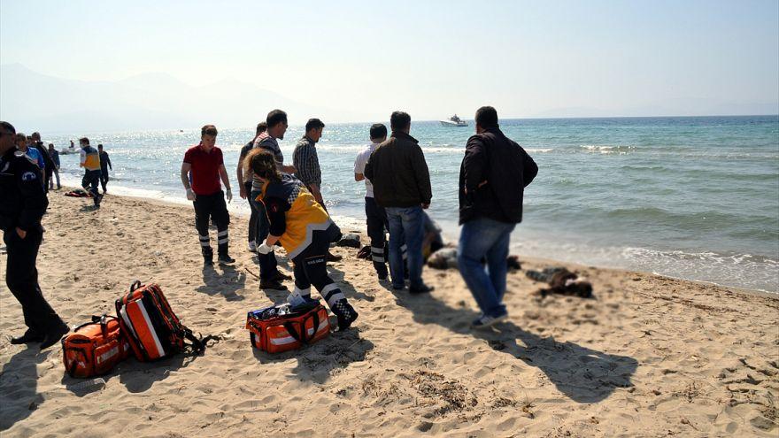 مرگ پنج کودک سوری در سواحل کوش آداسی ترکیه