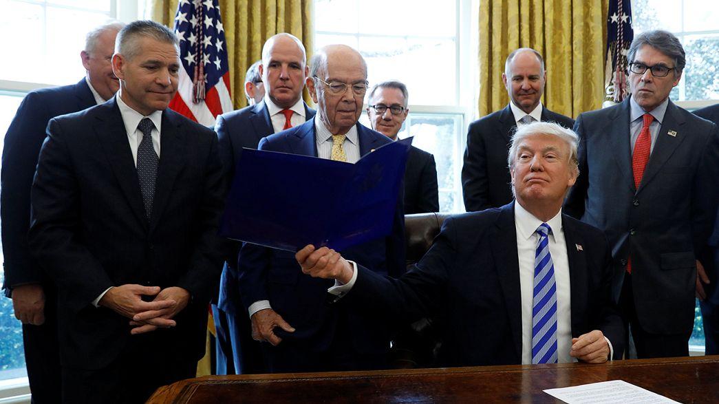 Donald Trump autorise la construction d'un oléoduc très controversé : XL Keystone