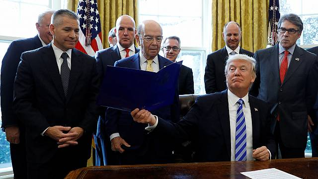 Trump dá luz verde ao oleoduto Keystone XL da TransCanada