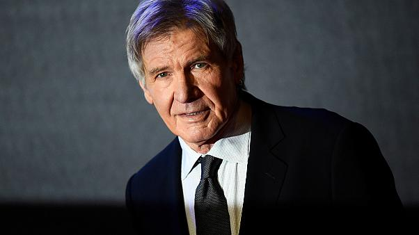 """Watch: Harrison Ford: """"I'm the schmuck who landed on the taxiway"""""""
