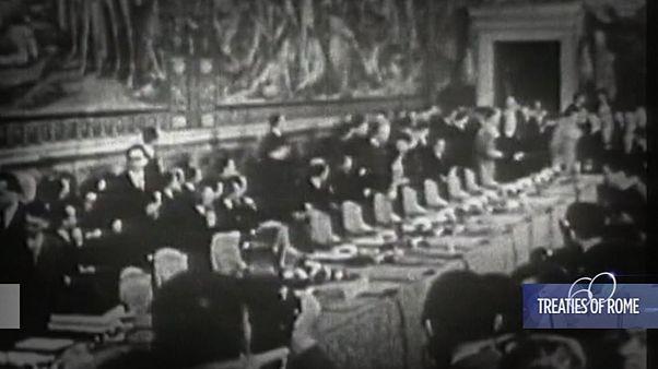 Σαν σήμερα: Υπογράφεται  η ιδρυτική Συνθήκη της Ρώμης για την Ε.Ε: 1957 – 2017