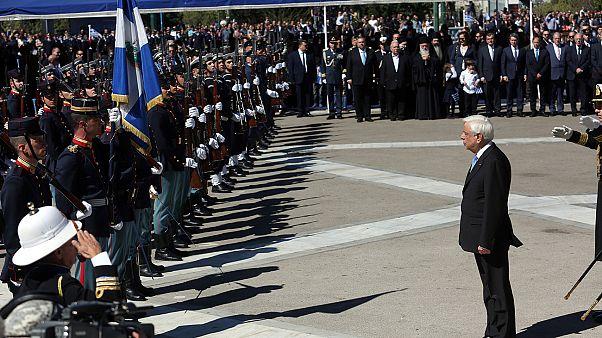 Ελλάδα: Ολοκληρώθηκε η στρατιωτική παρέλαση για τον εορτασμό της 25ης Μαρτίου