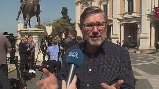 مراسل جريدة ليبيراسيون الفرنسية يتحدث ليورونيوز عن الوضع الأوروبي العام في ضوء نتائج القمة الأوروبية التي انعقدت في روما