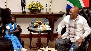 Afrique du Sud : le président Zuma surprend Ontlametse Phalatse le jour de son anniversaire