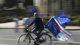 """تظاهرات في روما في ذكرى الـ60 لتوقيع """"اتفاقية روما"""""""
