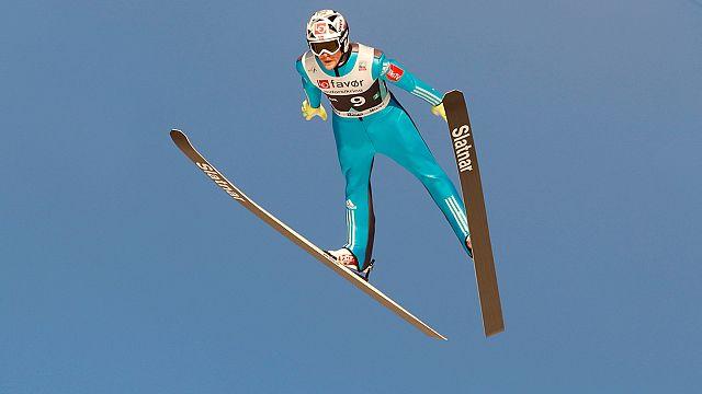 Летающие лыжники из Норвегии победили на этапе КМ в Словении