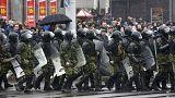 Decenas de detenidos en una marcha opositora en Minsk