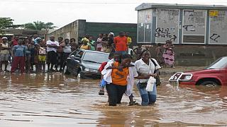Flooding kills 11 in Angola