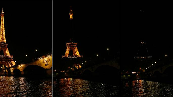 Earth Hour plunges world into darkness to fight climate change