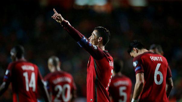 Russia 2018 - Ronaldo fires Portugal past Hungary; Lukaku's late late show saves Belgian blushes