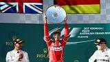 Sebastian Vettel y Ferrari se imponen en el primer GP de Fórmula 1 de la temporada