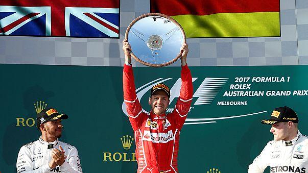 Formula One: Vettel wins in Australia