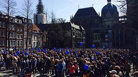 Pulse of Europe, el pulso de Europa, reúne a más de 20 mil personas en 58 ciudades europeas