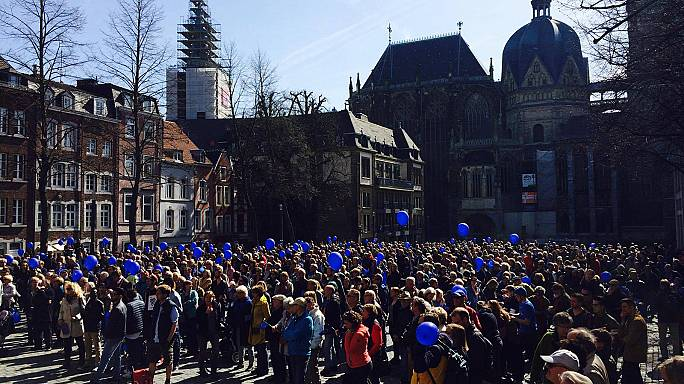 """Pulse of Europe: """"We are convinced that the majority of people believe in the European Union"""""""