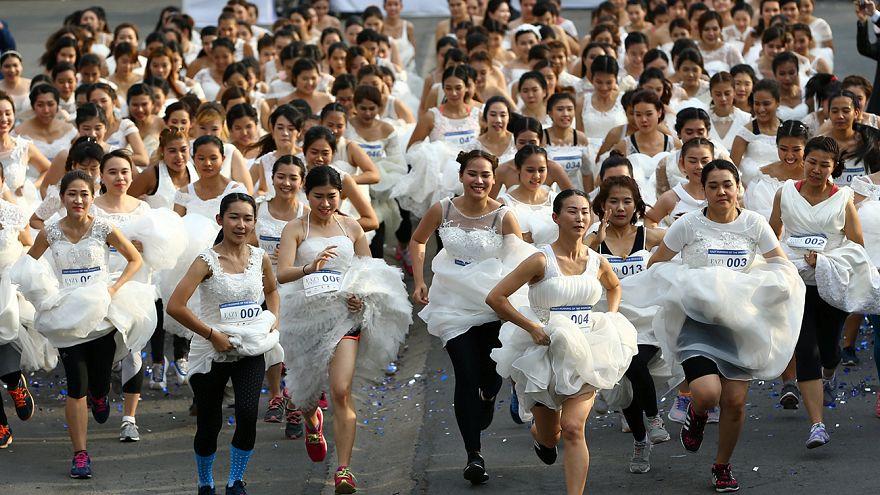 Menyasszony futás Thaiföldön