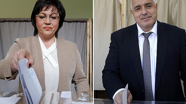 Kopf-an-Kopf-Rennen bei Parlamentswahl in Bulgarien