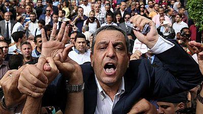 Un an avec sursis pour l'ancien président du syndicat de la presse égyptienne