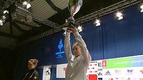 Rosella Fiamingo wins the Budapest Grand Prix