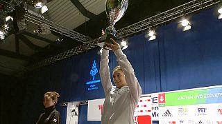 Роселла Фиаминго и Чон Джин Сон выиграли Гран-при Будапешта по фехтованию