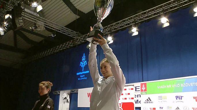 Oros para Fiamingo y Jung en el Gran Premio de esgrima de Budapest
