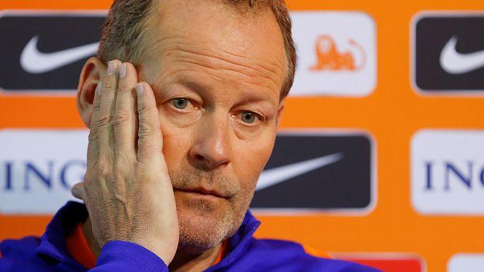 Der niederländische Nationaltrainer Danny Blind ist entlassen worden