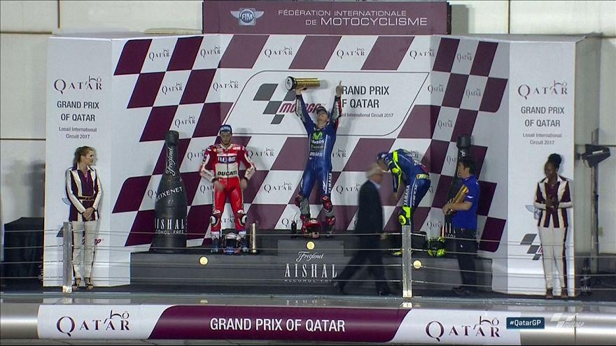 Maverick Viñales gana el GP de Catar