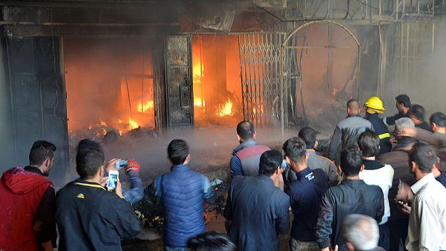 Un bazar de Mossoul-est visé par des tirs de mortiers
