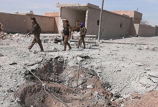 US-backed Syrian forces 'capture' key airbase near Raqqa