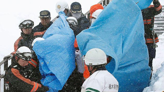 اليابان: انهيار ثلجي يخلف 8 قتلى