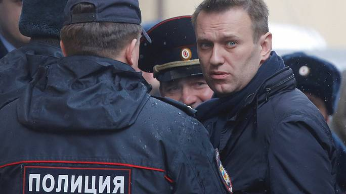 UPDATE Russian opposition figure Navalny fined over 'illegal protest'