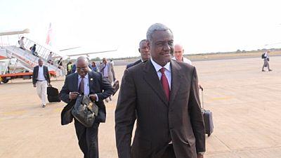 Au Soudan du Sud, Moussa Faki demande la protection des travailleurs humanitaires