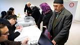 Diáspora turca começa a votar no referendo constitucional